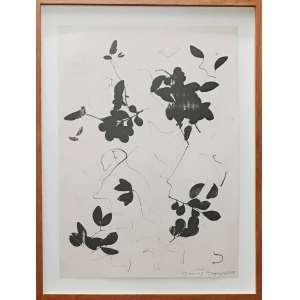 MONTEZ MAGNO - Nanquim sobre papel. Ano: 1979. Dimensões: 47 x 33,5 cm. Ass. inf. dir.