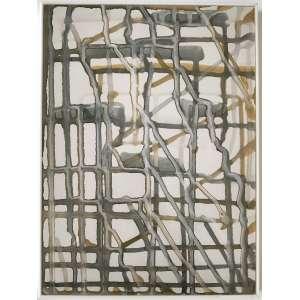 ANA HOLCK - Fotogragura da Série Grades, IV. 2006 - 2011. Dimensões: 34 x 25cm. Ed. 10/20. Ass. numerada e datada no verso. Montada em caixa de acrílico.