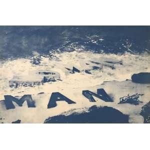RUBENS GERCHMAN - Serigrafia Man. Série Pop Triunfo Hermético. Ano: 1973. Ed. A.P. Dimensões: 39 x 59cm. Ass. canto inf. direito. Sem Moldura.