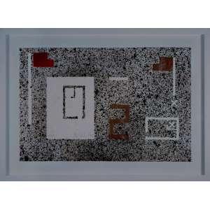 ANTONIO DIAS - Litografia com acréscimo de cor à mão. Ed. 23/50. Dimensões: 38 x 57cm. Com moldura. 51 x 70cm.