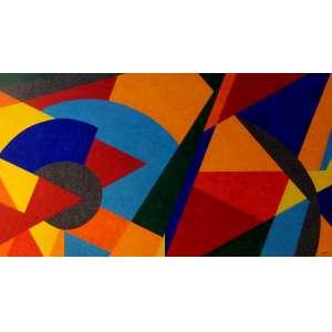 CLAUDIO TOZZI, Movimento - Acrílica sobre tela - 70x110 cm - ACID e VERSO 2011 (Acompanha certificado de autenticidade)