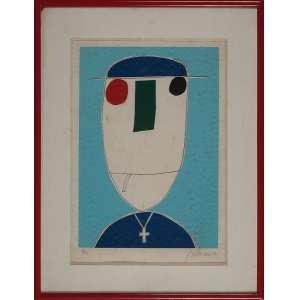 GUSTAVO ROSA, Sem Título - Gravura 14/50 - 55x38 cm - ACID e VERSO 1980 ( Com selo da Galeria Tema Arte Contemporânea )