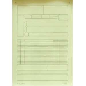 Marcius Galan (1972) - Sem título - Gravura 33/50 - 29,5 x 21 cm - 2004