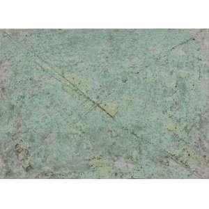 Marina Saleme (1958) - Sem título - Ténica mista sobre tela - 23 x 30 cm - Assinado no verso