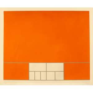 Milton Dacosta (1915-1988) - Composição construtivista - Serigrafia 3/100 - 70 x 100 cm - Sem moldura