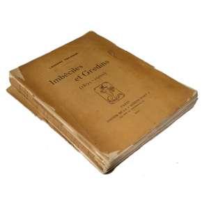 Imbéciles Et Gredins (1895-1900): Livro de capa amarelada, com traços visíveis de antiguidade. Dimensões 19 x 13 cm. Autor: Tailhade, Laurent.