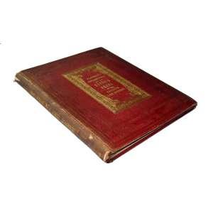 Herbário Flintoft´S Collection of the British Ferns in the English Lake District: Livro de capa vermelha e inscrições douradas. Dimensões 28,80 x 23 cm. Autor: Flintoft, J. James.