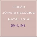 TNT Galeria de Arte - LEILÃO DE JÓIAS E RELÓGIOS . NATAL 2014