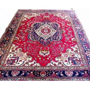 Tapete Tabriz. Med. 2,77x2,04 = 5,65m2.