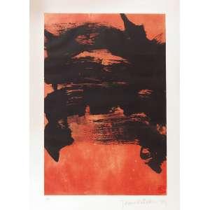 Tomie Ohtake<br>Composição SER. PA<br>70 x 50 1989 ACID