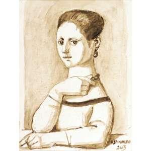 Reynaldo Fonseca<br>Figura feminina TM<br>40 x 30 2003 ACID