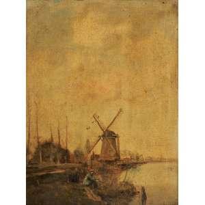 Wim Van Dijk<br>Moinhos - Holanda OST<br>40 x 30 Déc. 50 ACIE