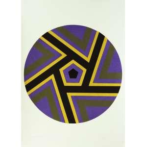 Odetto Guersoni<br />Justaposição - P.E. - Xilogravura - 70x50 cm - 1976 - A.C.I.D (sem moldura)