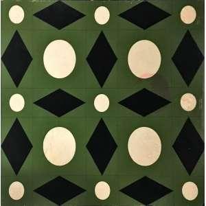 Athos Bulcão, Geométrico, Óleo sobre cartão, medindo 82 x71 cm, assinado e datado 1959, CID.
