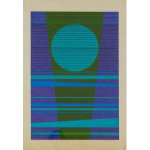 Renina Katz, Gravura , medindo 46 x 29 cm, assinada e datada 1973, CID.