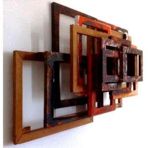 Afonso Tostes, óleo s/tela em madeiras sobrepostas, 85 x 132 x 35 cm, s/d.