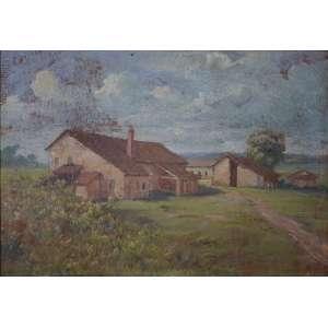 Campos Ayres, óleo s/cartão, medindo 21 x 30 cm, assinado CID.