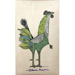 Aldemir Martins, Galo, Serigrafia, medindo 59 x 38,5 cm, assinado e datado 1967.