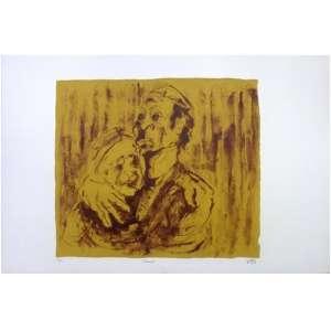 "SAFARTY, Gretta. ""Ternura"" Litografia 13/30 - 70 x 100 cm - 1975"