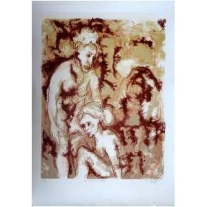 SAFARTY, Gretta. Metamorfose I - litografia 21/50 - 74 x 54 cm - 1976
