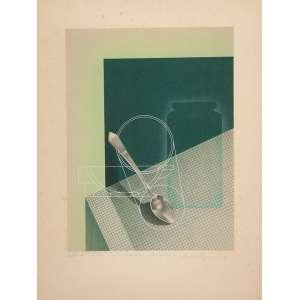 """VASARELY<br>""""Sem titulo""""<br> Litografia e Serigrafia. E.A – 11 Ass.dat. 1929 inf. dir. 31 x 23 cm."""
