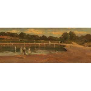 Eugênio Latour<br>Marinha - osm <br>33 x 84