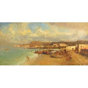 Dario Mecatti<br>Amalfi Coast - ost <br>60 x 120