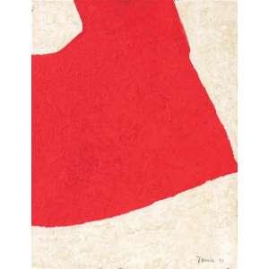 Tomie Ohtake<br>Sem título - ost <br>déc 70 - <br>41 x 33 <br>Registrada no Instituto Tomie Ohtake sob o código P70-048