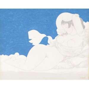 Milton da Costa<br>Vênus e passáro - ost <br>1973 - <br>33 x 41