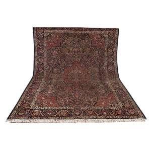 Antigo tapete Tabriz,390 x 290 cm (11,30 m2).<br>