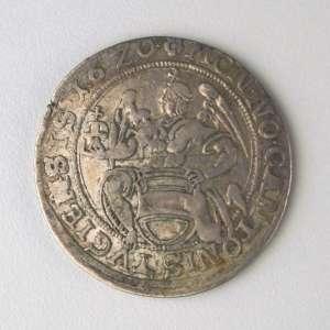 Suiça (Cantão de Zug), Moeda de Prata - 1/2 Thaler, 1620. Muito Bem Conservada