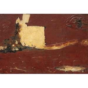 Raimo, Leopoldo<br />Sem título. Óleo sobre tela, 38x55 cm, 1962, A.C.I.E.<br />Coleção Odetto Guersoni.