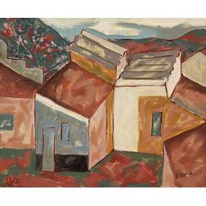 Fang, Chen Kong<br />Casario. Óleo sobre tela, 45x55 cm, 1990, A.C.I.D.