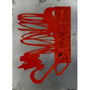 Krajcberg, Frans<br />Sem título - 16/100. Serigrafia sobre metal, 54x40 cm, 1975, A.C.I.D.