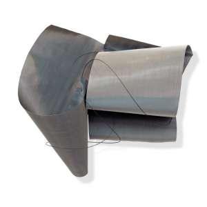 Iole de Freitas<br />Sem título. Tela de metal e fio de cobre, 91x101x38 cm, déc. 80.