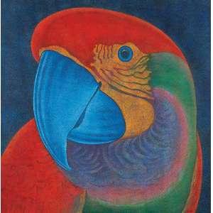 TOZZI, Cláudio - Papagália - A.S.T. - 120 x 120 cm - a.c.i.d. 1981