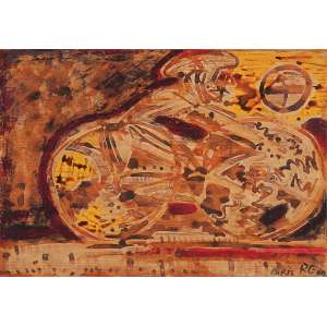 GERCHMAN, Rubens - Bicicleta de Git Le Coeur - T.M. - 30 x 42 cm - a.c.i.d. - 2004 - Paris