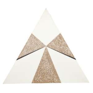 BARSOTTI, Hercules - Triângulo - tinta acrílica sobre tela com pedra e areia - 80 x 92 cm - ass. no verso 2004