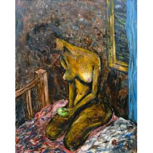 Peng Bo<br>Nu Feminino – 99 x 78 cm <br>OST - Ass. CID e Dat. 2002