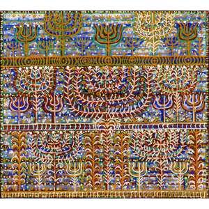 Fernando Lucchesi<br>Árvore da Vida – 90 x 100 cm <br>AST – Ass. Verso e Dat. 2016