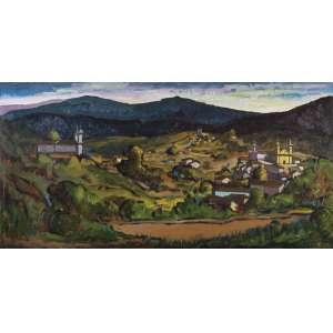 Márcio Schiaz<br>Ouro Preto – 80 x 160 cm <br>OST – Ass. CIE e Dat. 2010