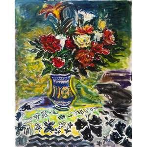 Sergio Telles<br>Flores – 100 x 80 cm– OST <br>Ass. Centroe Dat. 2012