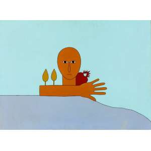 Antonio Maia<br>Mérito – 73 x 100 cm – AST – Ass. PI e Dat. 1978<br>