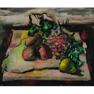 Enrico Bianco<br>Natureza Morta – 46 x 55 cm – OST – Ass. CID e Dat. 1941<br>Registrado no Projeto Bianco.Reproduzido no livro Um Passeio pela Arte Brasileira